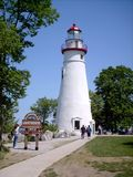 Marblehead Lighthouse. Off of Lake Erie in Marblehead, Ohio Stock Photos