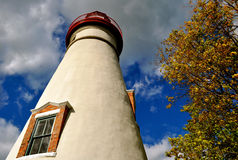 Marblehead Lighthouse - Ohio royalty free stock photography