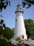 Marblehead Lighthouse in Ohio Stock Photo