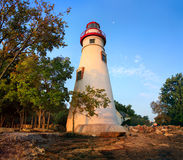 Marblehead Lighthouse Tower Royalty Free Stock Photography