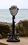Marblehead Lighthouse View Finder 2. Marblehead Lighthouse View Finder - Ohio Royalty Free Stock Photography
