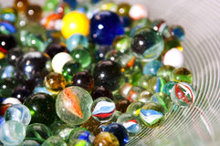 Marbles Royalty Free Stock Photo
