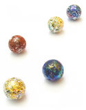 Marbles. Colored Marbles stock images