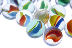 Marbles. Close-up of marbles Stock Photos
