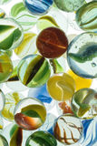 Marbles. A lot of colorful marbles - closeup Royalty Free Stock Image