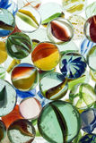 Marbles. A lot of colorful marbles - closeup Stock Photography