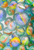 Marbles. Of different colors royalty free stock images