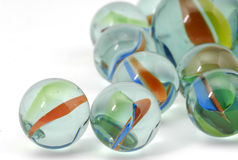 Marbles. Photo of Glass Marbles Stock Images