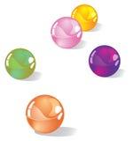 Marbles stock illustration