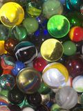 Marbles. Close up of a large number of marbles Royalty Free Stock Photo