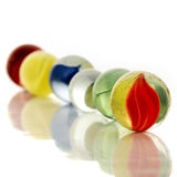 Marbles. Colorful marbles Royalty Free Stock Photo