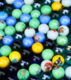 Marbles Background. A background of small coloured marbles Royalty Free Stock Photography