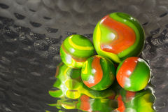 Marbles Bowl Stock Image