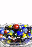 Marbles In Bowl Stock Photography