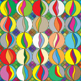 Marbles Colorful Seamless Pattern_eps Stock Image