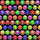 Marbles or colourful balls Royalty Free Stock Images