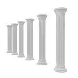 Marbles Columns Royalty Free Stock Images