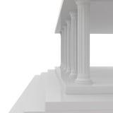 Marbles Columns. Old Marbles Columns - 3d illustration Stock Photo