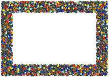Marbles Frame Stock Images