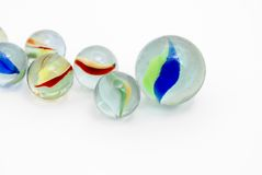 Marbles Gathering Stock Photos