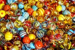 Marbles, Glass Marbles, Balls Royalty Free Stock Photos