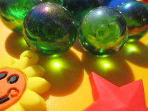 Marbles. Royalty Free Stock Image