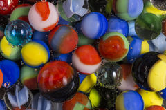 Marbles In Soda Stock Photos