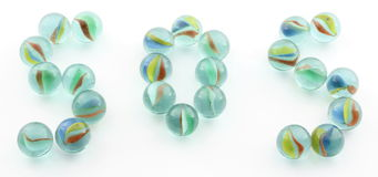 Marbles sos Royalty Free Stock Photos