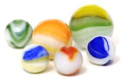 marbles szkła Zdjęcia Royalty Free