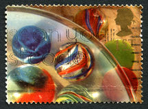 Marbles UK Postage Stamp Stock Photos