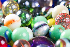 Marbles up close for a background Royalty Free Stock Images