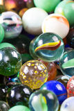 Marbles up close for a background Stock Photos