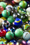 Marbles up close for a background Royalty Free Stock Photography