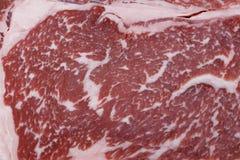 Marbling μπριζόλας βόειου κρέατος Wagyu στοκ φωτογραφία με δικαίωμα ελεύθερης χρήσης