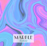Marbling. Marble texture. Artistic abstract colorful background. Splash of paint. Colorful fluid. Bright colors. Can be used for design packaging, card, cover Royalty Free Stock Images