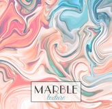 Marbling. Marble texture. Vector abstract colorful background. Paint splash.  Royalty Free Stock Image