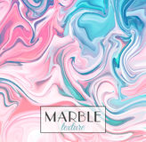 Marbling. Marble texture. Vector abstract colorful background. Paint splash.  Royalty Free Stock Photography