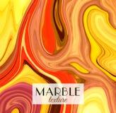 marbling Struttura di marmo Fondo variopinto astratto artistico Spruzzata di vernice Liquido variopinto Colori luminosi illustrazione vettoriale