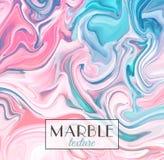 marbling Textura de mármol Fondo colorido abstracto del vector Pinte el chapoteo fotografía de archivo libre de regalías