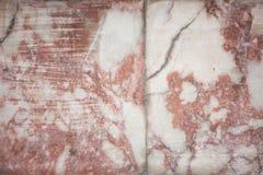 Marbre cramoisi Image libre de droits