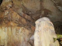 Marbre de caverne de la Crimée Photographie stock