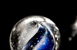 Marbre en verre Photo libre de droits