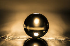 Marbre en verre - Image libre de droits