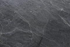 Marbre noir d'ardoise pour le fond ou la texture images stock
