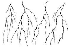 Marbre peint de fissure de mur illustration de vecteur