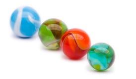 Marbres colorés Photographie stock