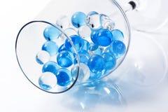 Marbres en verre Photographie stock libre de droits