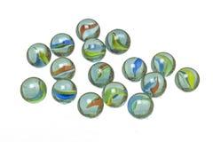 Marbres en verre Images libres de droits
