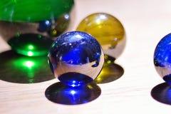 Marbres en verre Images stock