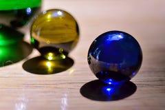 Marbres en verre Image libre de droits